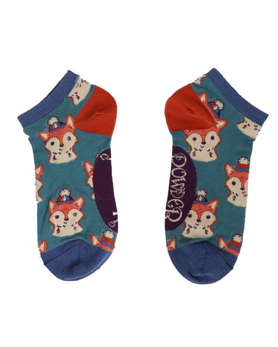 Foxy Trainer Socks by Powder