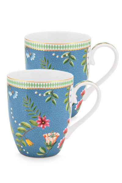 Set of 2 La Majorelle Mugs by Pip Studio