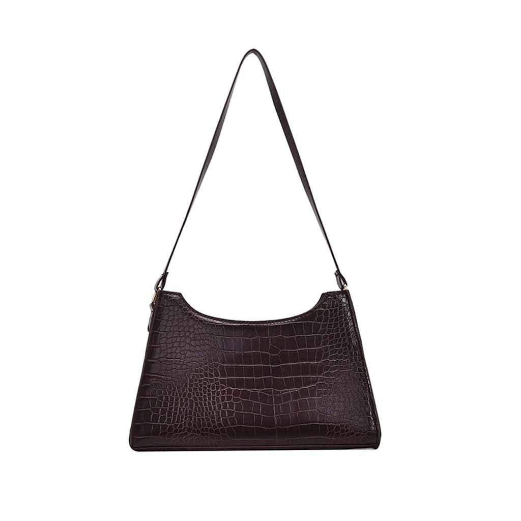 Sac en simili cuir crocodile Sac Sentence Love