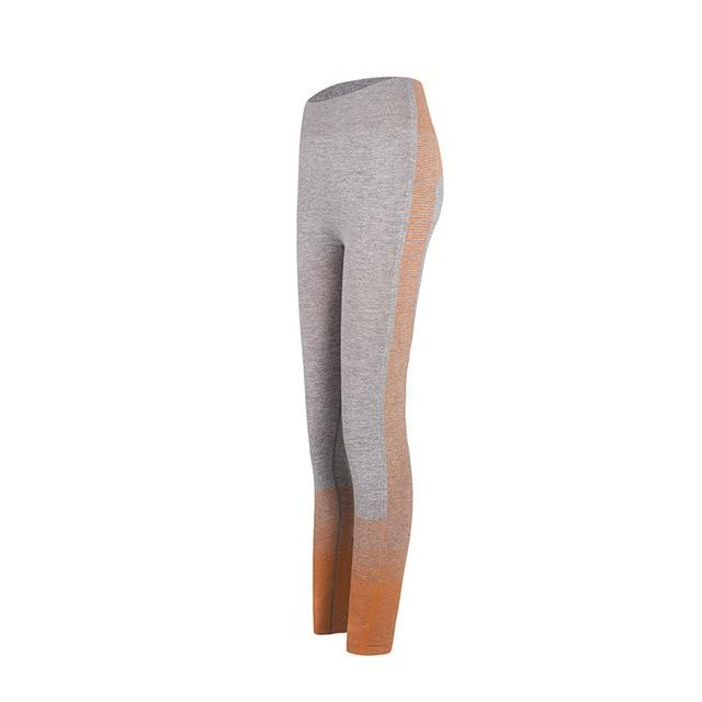 Vêtements de sport Gym Yoga Ensemble Sport vetement tendance femme Sentence Love orange pant 1pcs / S