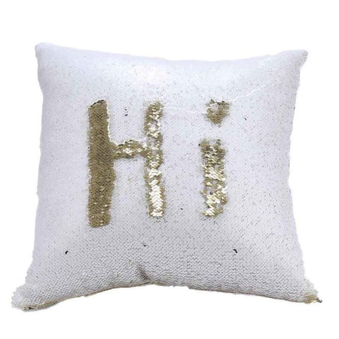 Two Tone Glitter Sequins Throw Pillows Decorative Cushion Covers
