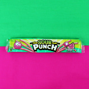 SOUR PUNCH Watermelon Straws, 2oz 24 Ct (Business)