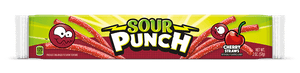 2oz Sour Punch Cherry Straws