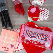 Red Vines Original Red Twists, Valentine's Day Pack (3.5oz), candy bag with gifts, cards and candy