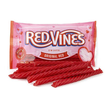 Red Vines Original Red Twists, Valentine's Day Pack (3.5oz), raw candy with bag