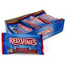 Red Vines Original Red Licorice Twists, Soft & Chewy Candy, 4oz Bag, case of 12
