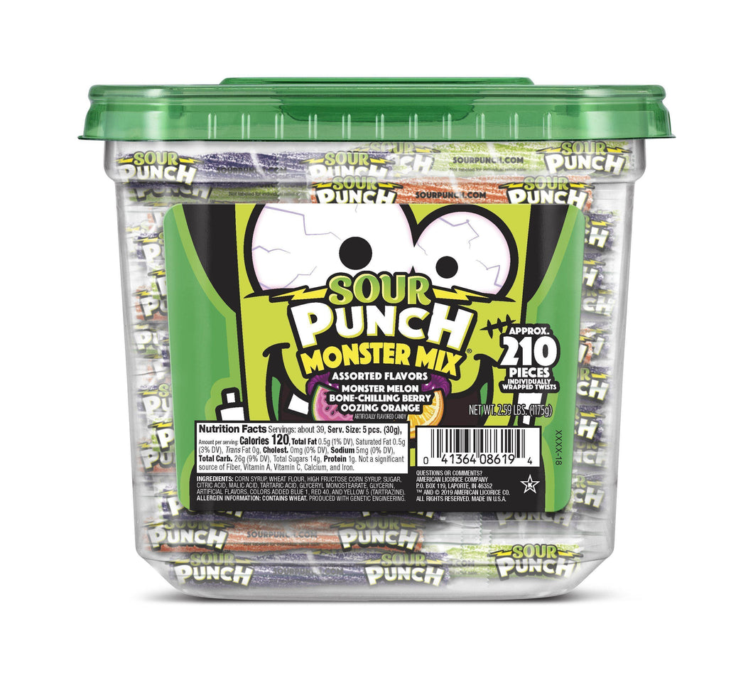 SOUR PUNCH Monster Mix Halloween 3