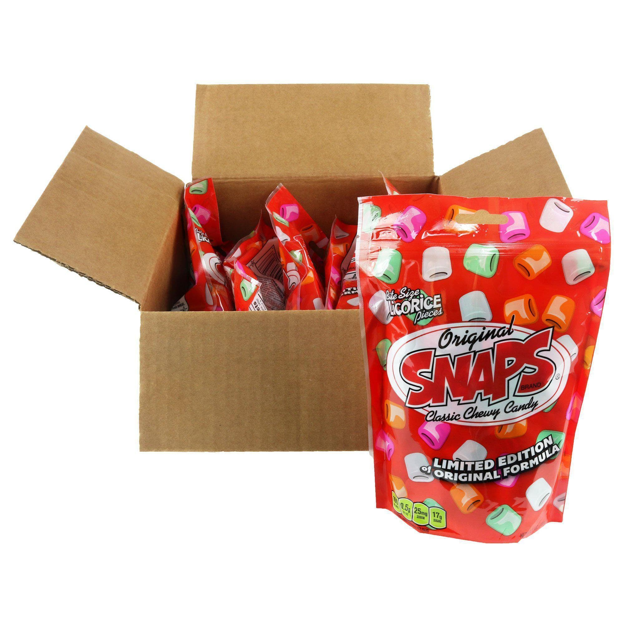 Original SNAPS Classic Chewy Candy, 12oz Bag