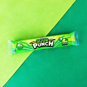 SOUR PUNCH Apple Straws, 2oz 24 Ct