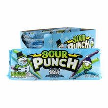 SOUR PUNCH Arctic Straws, 3.7oz Tray