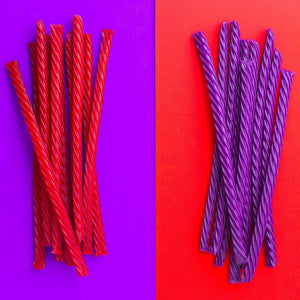 RED VINES Original Red & Grape raw candy