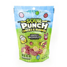 SOUR PUNCH Easter Chicks and Bunnies, 8oz Bag