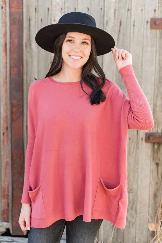 Brooke Oversized Sweater with Pockets (Available in 7 colors)