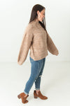 Vivian Long Sleeve Sweater Camel