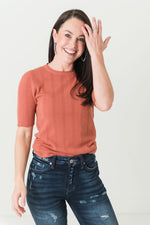Melody Mini Ribbed Sweater Top (Available in 4 Colors)