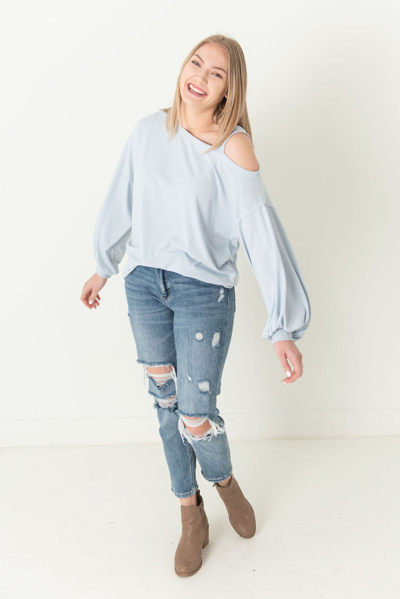 Leah Off Shoulder w/ Strap