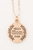 Best Mom Ever Necklace (Gold, Silver)