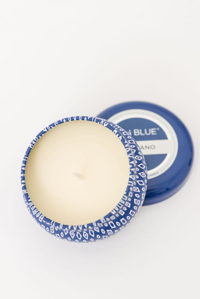Capri Blue 3 Oz. Printed Mini Tin Candle (Volcano)