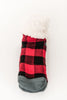 Classics Lumberjack Slipper Socks (Red)