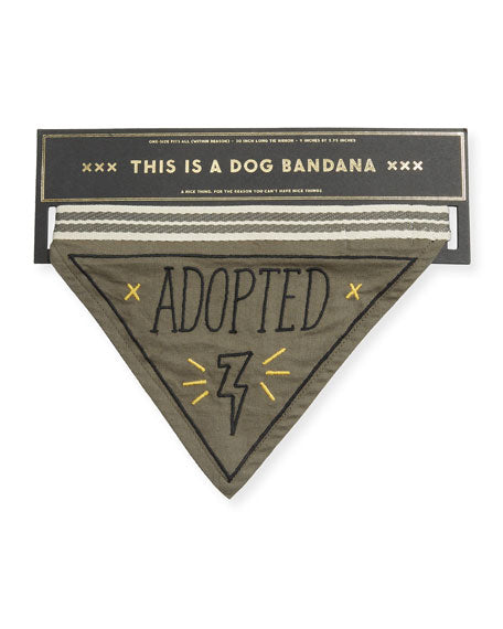 Adopted Dog Bandana