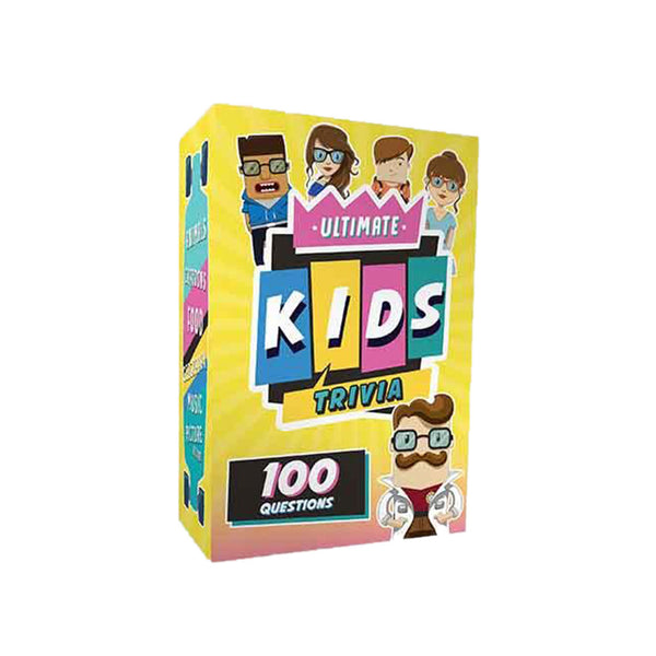 The Ultimate Kids Trivia Card Game