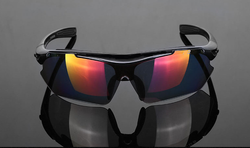 TR90 Polymer Polarized HD Tactical Shooting Glasses - 5 interchangeable lenses