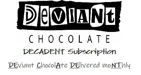 DECADENT Subscription - 3 Months - Shipped - Vegan