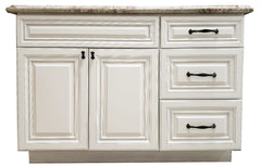 Antique white Vanity  48''