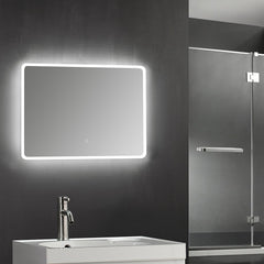 LED LIGHTING BATHROOM VANITY SINK MIRROR W/ TOUCH BUTTON MS5020-3628B