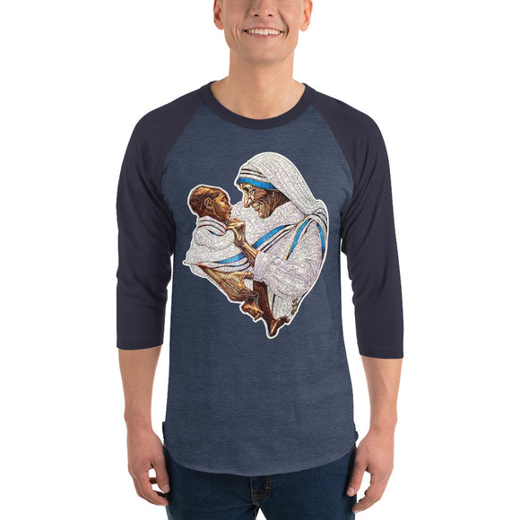 Mother Teresa Baseball Tee