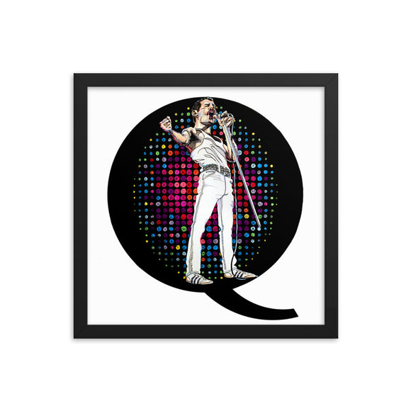 Ready Freddie Framed Wall Art