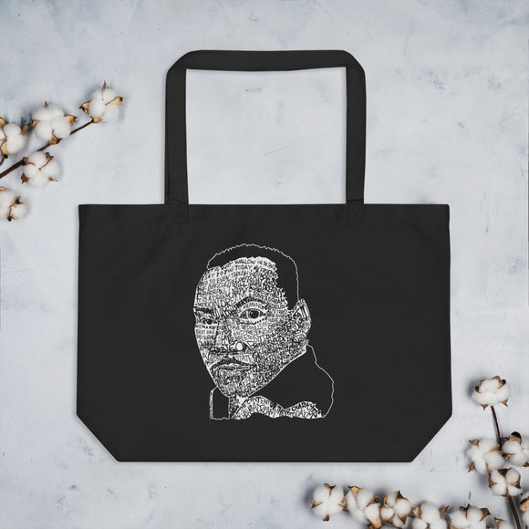 MLK Dream Large Organic Tote