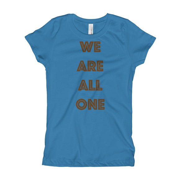 We Are All One Girl's Tee