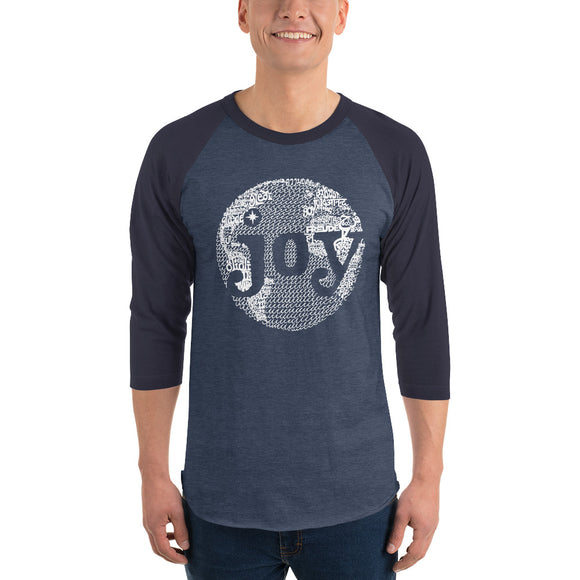 Joy To The World Baseball Tee