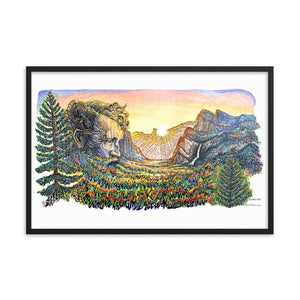 "John Muir 24"" x 36"" Framed Wall Art"