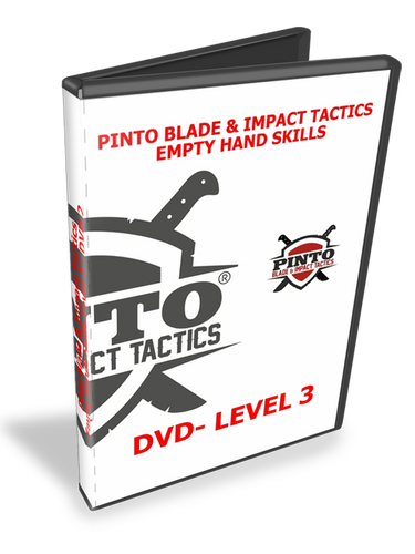 Pinto Blade @ Impact Tactics Level 3 Empty Hand Skills