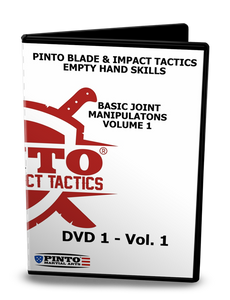 Basic Joint Manipulations Volume 1 - Pinto Blade @ Impact Tactics