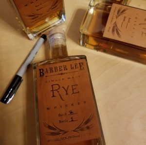 BARBER LEE SINGLE MALT RYE