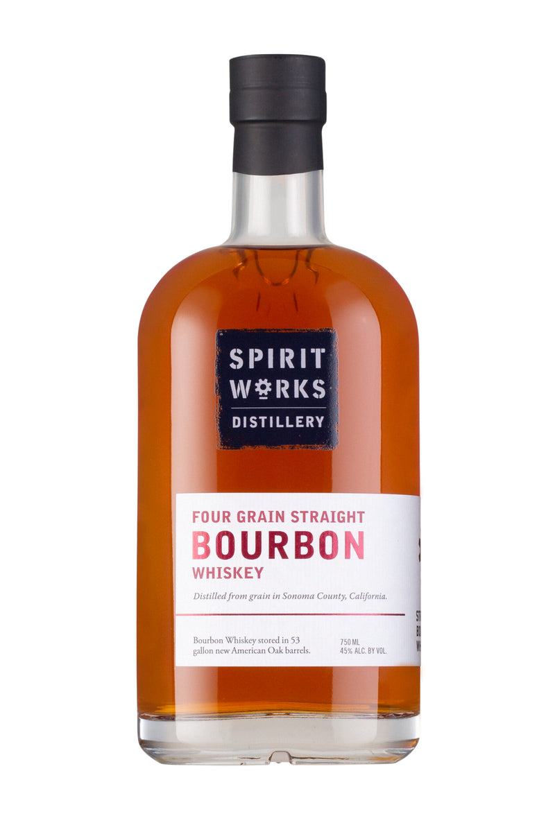 SPIRIT WORKS FOUR GRAIN STRAIGHT BOURBON 750 ML BATCH