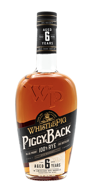 WHISTLE PIG PIGGYBACK 6 YEAR