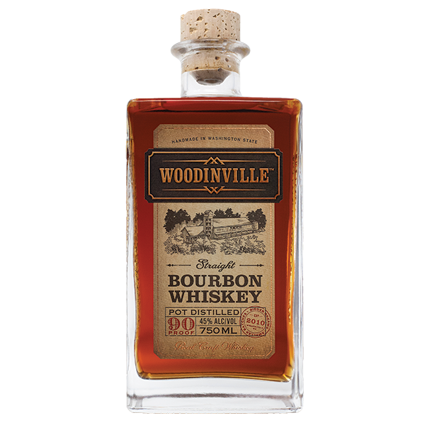 WOODINVILLE BOURBON 90 PROOF