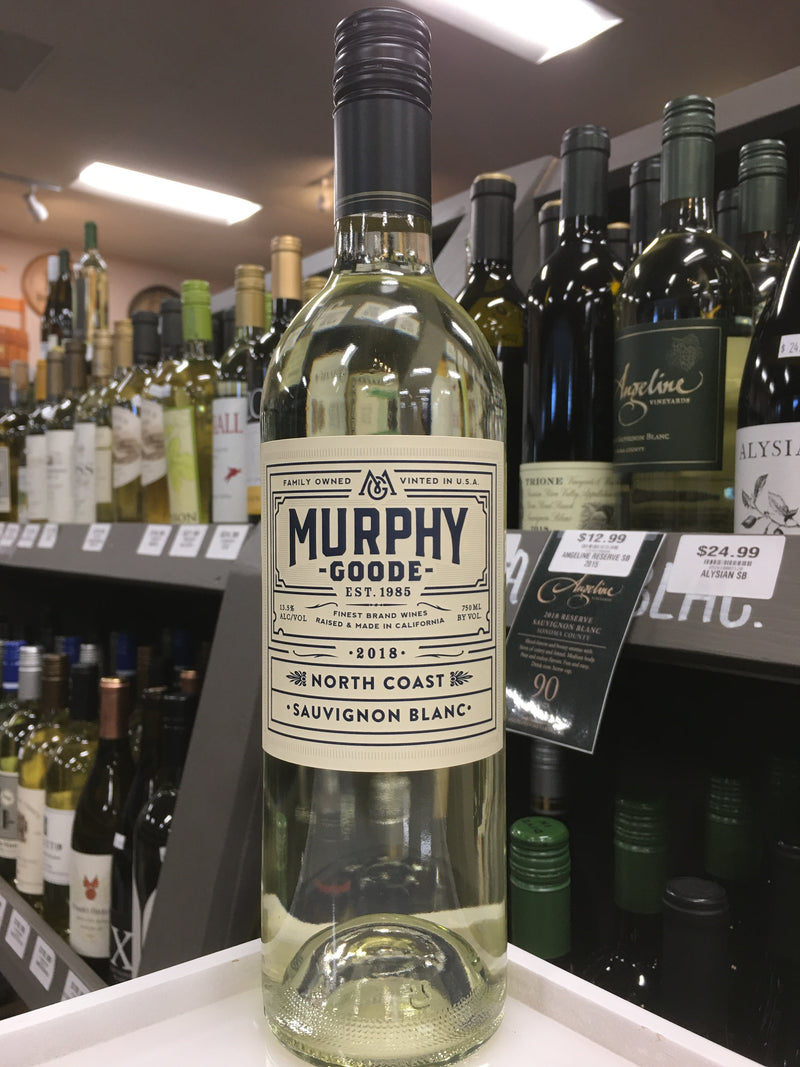 MURPHY GOODE NORTH COAST SAV BLANC. 2018