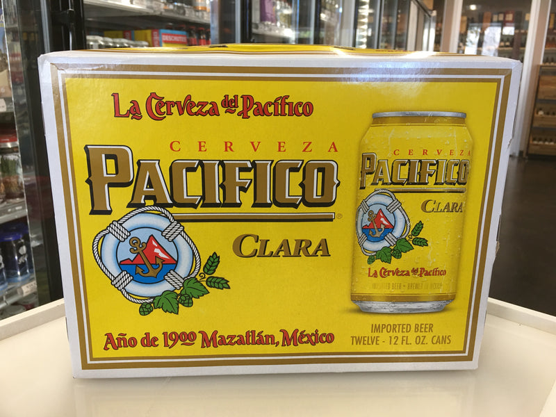 PACIFICO 12PK CANS