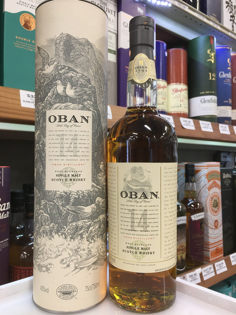 OBAN WEST HIGHLANDS 14 YRS.