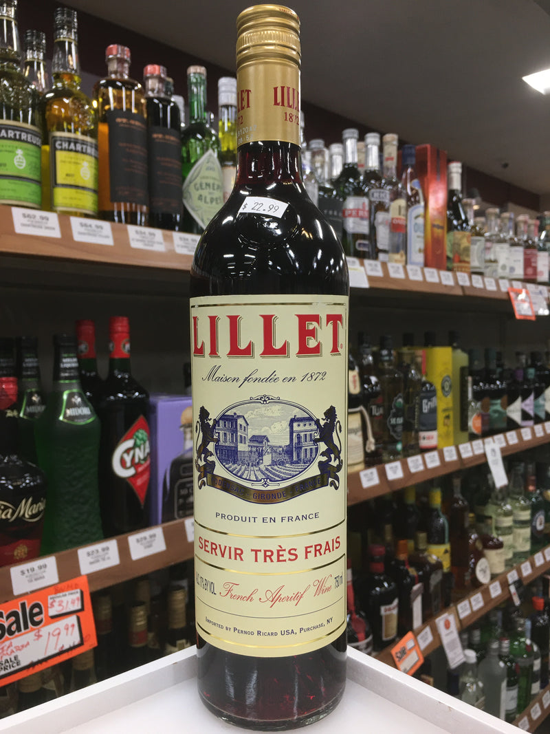 LILLET ROUGE APERITIF 750 ML