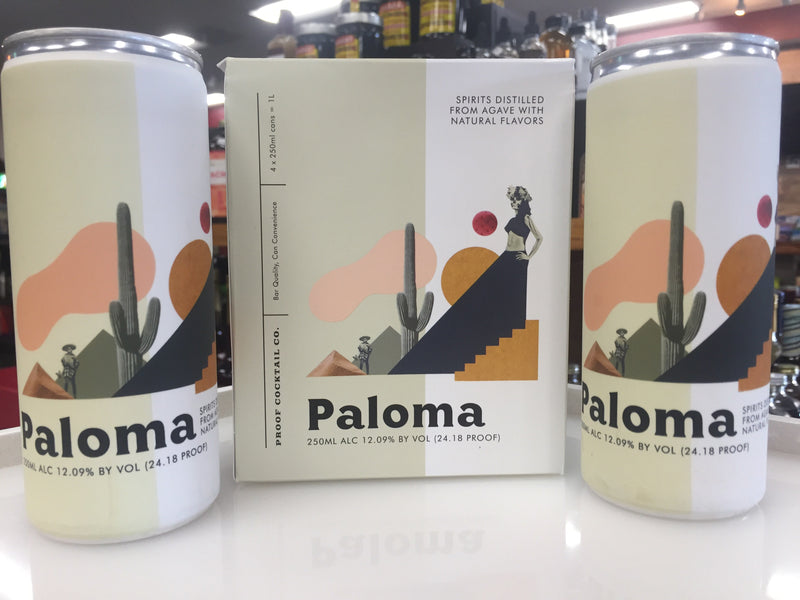 PALOMA 4 PACK CANS BY PROOF COCKTAIL CO