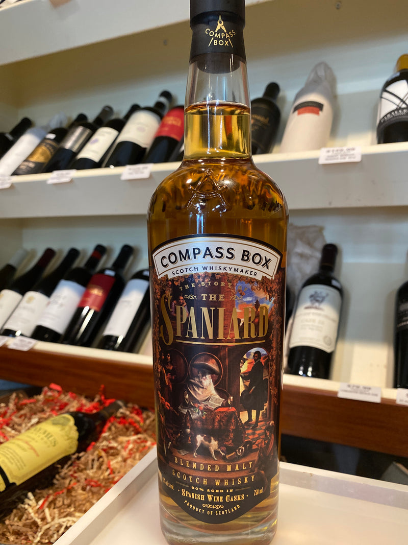 COMPASS BOX THE SORY OF THE SPANIARD