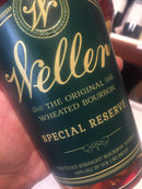 WL WELLER RESERVE/E H TAYLOR SMALL BATCH  1 bottle of each