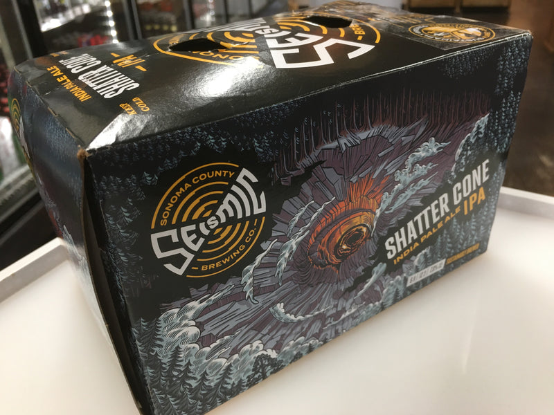 SEISMIC BREWING SHATTER CONE IPA 6PK CANS