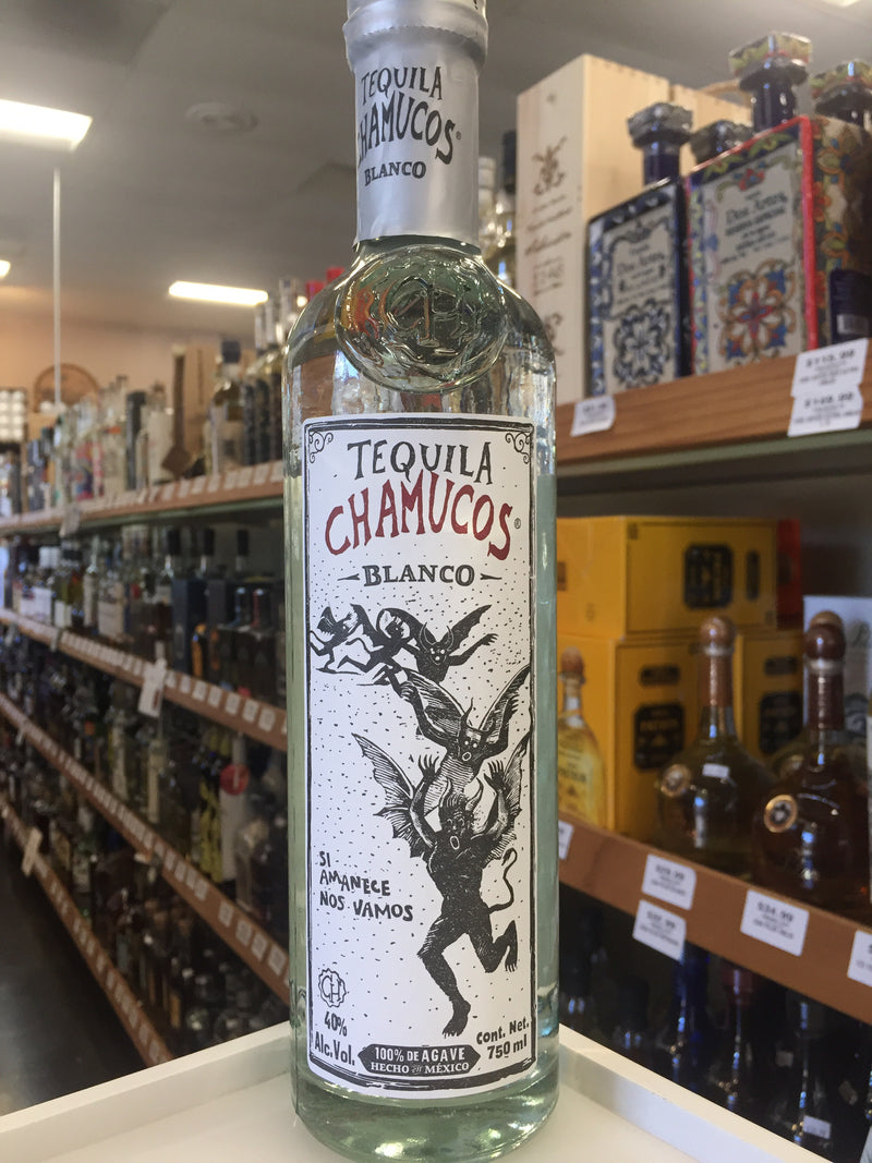 TEQUILA CHAMUCOS BLANCO